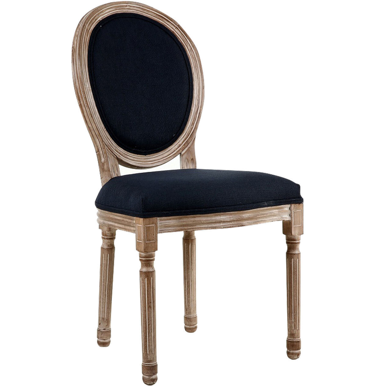 Reclaimed Navy Louis Dining Chair