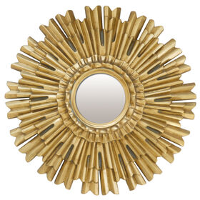 Picture of 21-in Gold Flair Sunburst Mirror