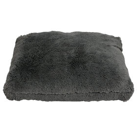 Picture of 36X27 FAUX FUR DOG BED CHARCL