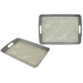 Picture of 18  REC SERVING TRAY GLAM