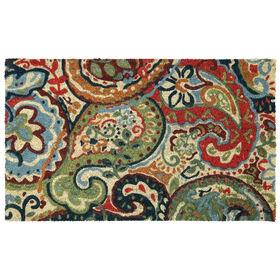 Picture of Multi Paisley Coir Doormat 18 X 30-in