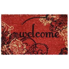 Picture of Graphic Paisley Coir Doormat 18 X 30-in