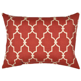 Picture of Garden Gate Cinnamon Rectangle Pillow