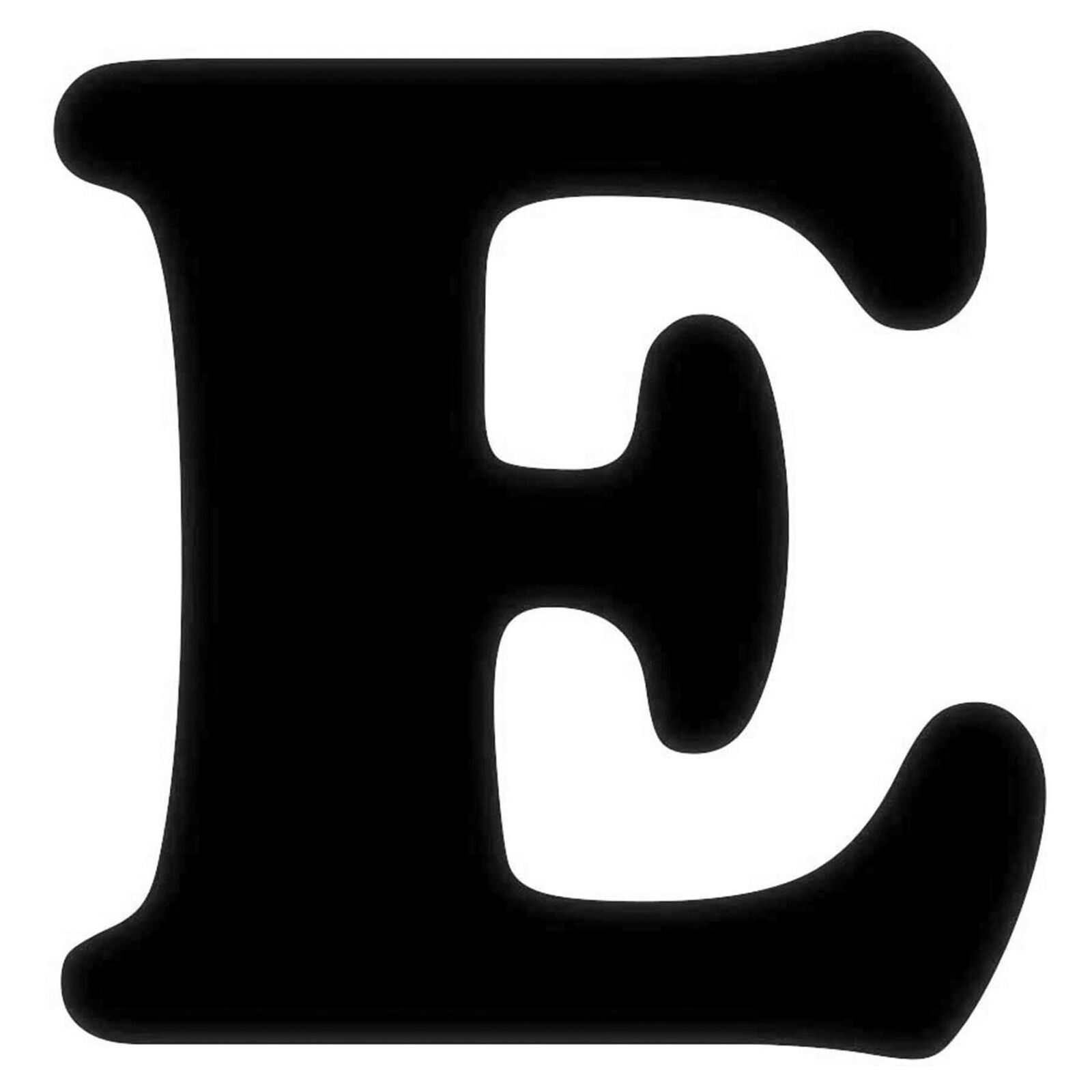 Black And White Letter E Pictures to Pin on Pinterest ...
