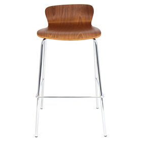 Picture of Walnut Bentwood Barstool 30-in