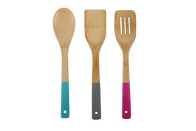 Picture of Core Bamboo Los Angeles 3-Piece Utensil Set, Assorted
