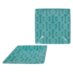 Picture of 8 SQR SLD PLATE STITCHES TEAL