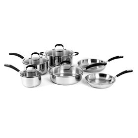 Picture of 10 Piece Stainless Steel Cookware Set