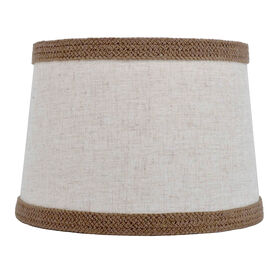 Picture of Linen Lamp Shade with Braid 12x14x10-in