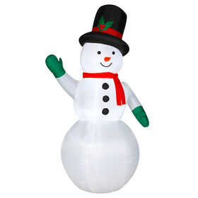 Picture of 7 ft Snowman Inflatable