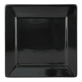 Picture of S/4 SQR SALAD PLATE BLACK
