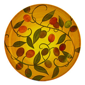 Picture of Siena Melamine Salad Plate - Olives