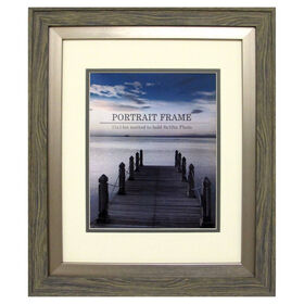 Picture of 8 X 10-in Gray Driftwood Portrait Frame