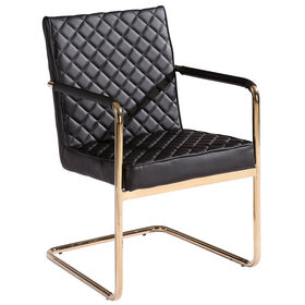 Picture of Harlow Chair - Black and Gold