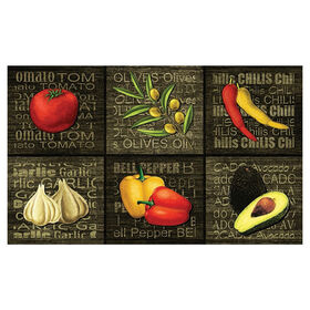 Picture of Garden Groceries Doormat 17 X 27-in