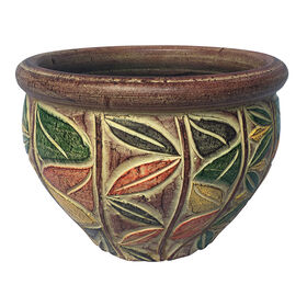 Picture of Traditional Floral Planter- 12.5-in
