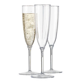 Picture of 6 oz Optic Champagne Glasses - set of 12