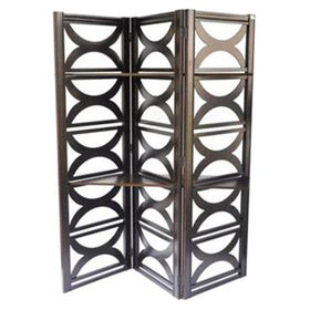 Picture of Circle 2 Shelf Screen - Black