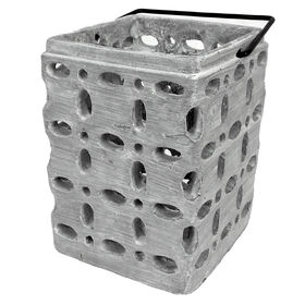 Picture of CEMENT CUT OUT LANTERN 7