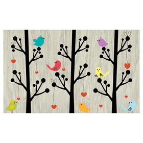 Picture of Happy Birds Tree Mat- 18X30