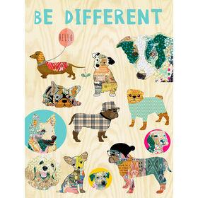 Picture of 18 X 24-in Be Different Children's Studio Art