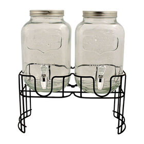 Picture of Mini Yorkshire Double Drink Dispenser, 1Gal.