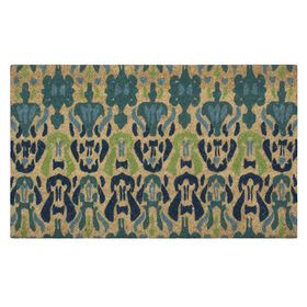 Picture of 18 x 30 Island Ikat Coir Rug