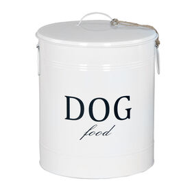 Picture of Large Tin Dog Food Canister -  14X18