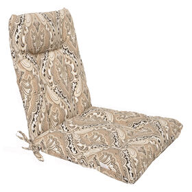 Picture of Grovedale Ebony Wrought Iron Hinged Chair Cushion