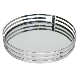 Picture of Round Vanity Mirror Tray, Chrome