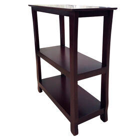 Picture of Brown Thick Leg Bookcase with Three Shelves - 29 in.