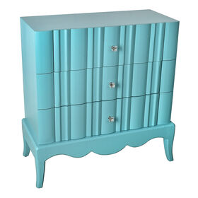 Picture of Aqua 3 Drawer Chest