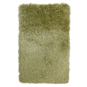 Picture of C19 Green Senses Shag Rug