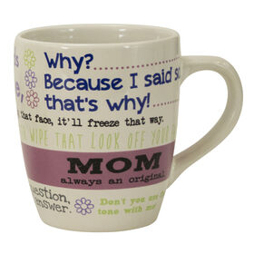 Picture of 25 oz Latte Mug - Mom