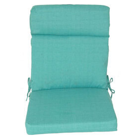 Picture of Teal Peacock Steel Hinged Chair Cushion