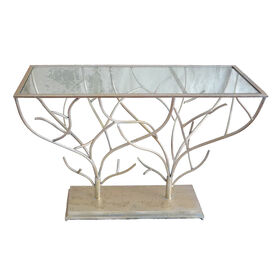 Picture of Glam Branch Console Table 43-in