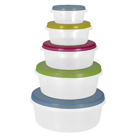 Picture of Round Storage Containers- 5-Pieces