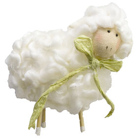 Picture of 4.25IN HANGING SHEEP ORNAMENT