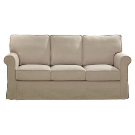 Picture of Savannah Natural Linen Sofa with Faux Slip Cover