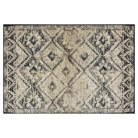 Picture of B262 Black and Ivory Calypso Rug- 7x10 ft