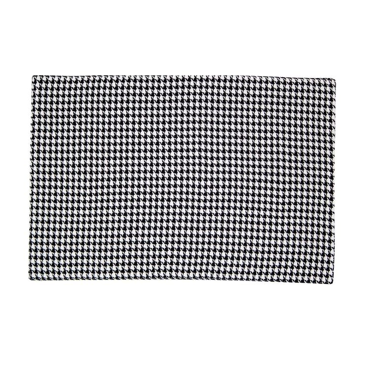 Houndstooth Placemats, Set of 4