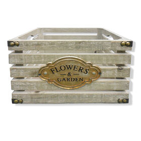 Picture of Slate Crate Planter 10-in