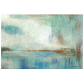 Picture of A Familiar Light Abstract Canvas Art- 36x60 in.