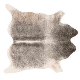Picture of B289 Grey and Ivory Cowhide Rug- 6x8 ft.