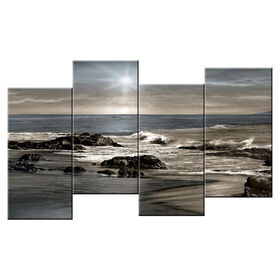 Picture of 40 X 20-in Staggered Sea Sunset Studio Art