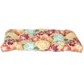 Picture of Blossom Sugarplum Wicker Settee Cushion