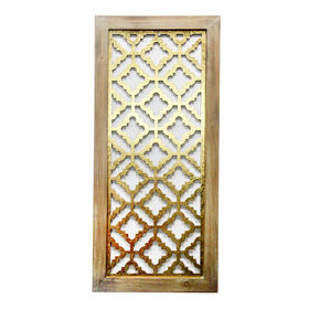 Picture of PB 14X32 WD/GOLD WALL PANEL