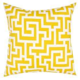 Keyes Banana Square Pillow