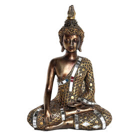 Picture of Gold & Silver Sitting Buddha