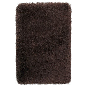 Picture of Tri-Chocolate Senses Shag Accent Rug 27 X 42-in